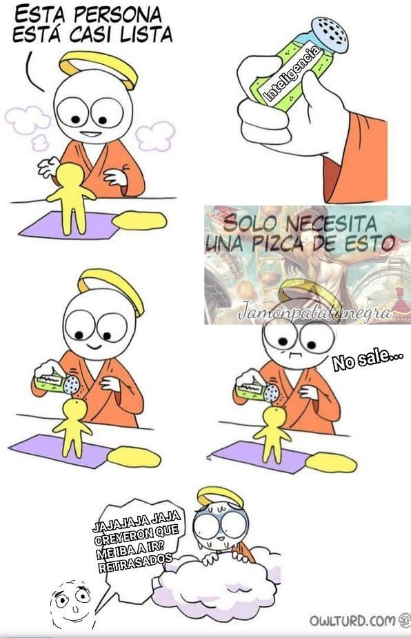Meme del qliao de MEKGOENTO