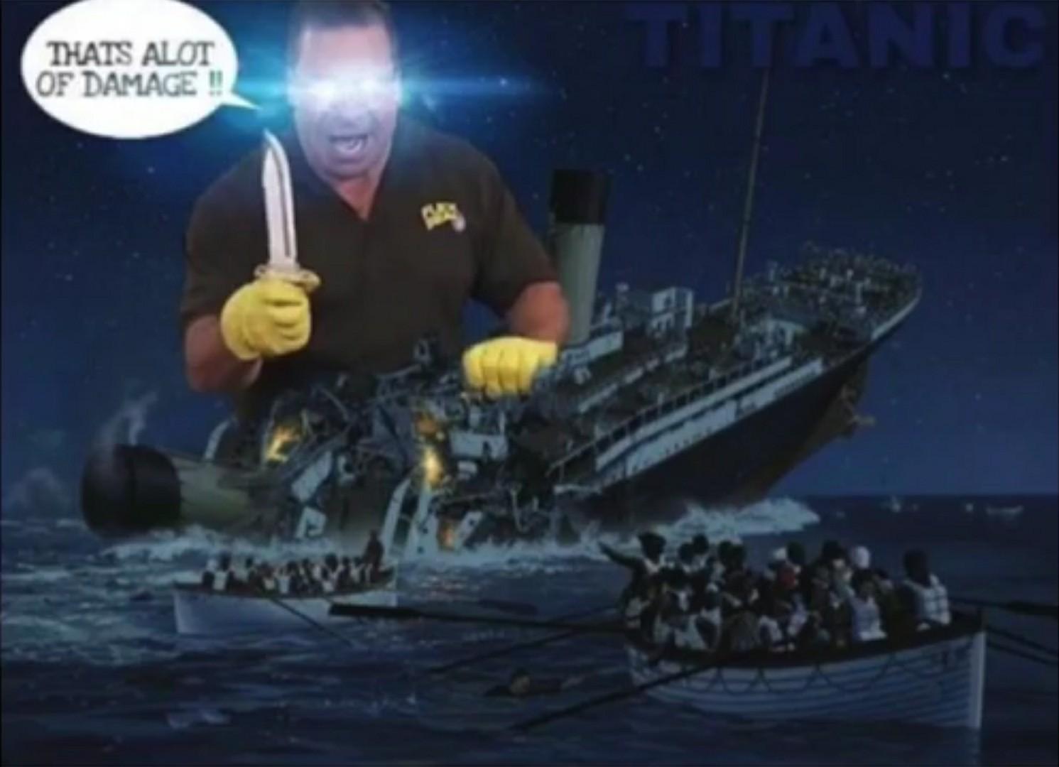 Titanique le bateau - meme