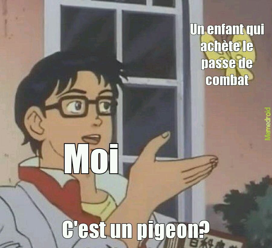 Is this a pigeon? - meme