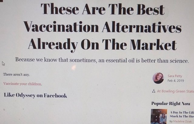 The best vaccination alternatives already on the market - meme