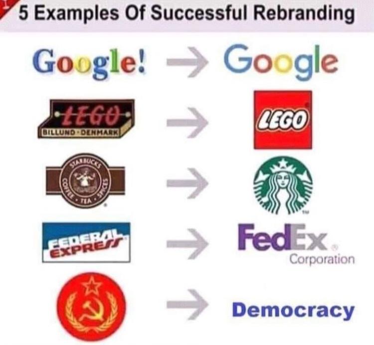 democracia é uma porra - meme