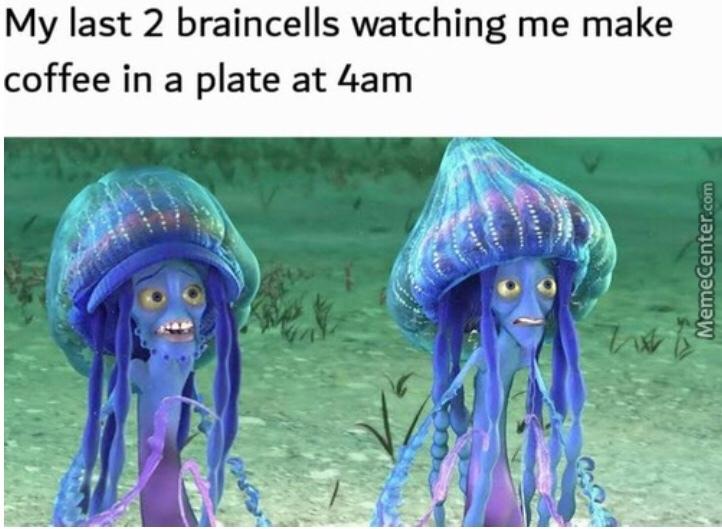 two brain cells - meme