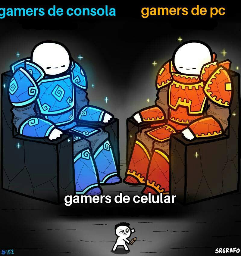 Tipos de gamers - meme