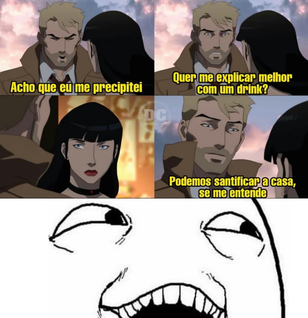Constantine ta danado - meme