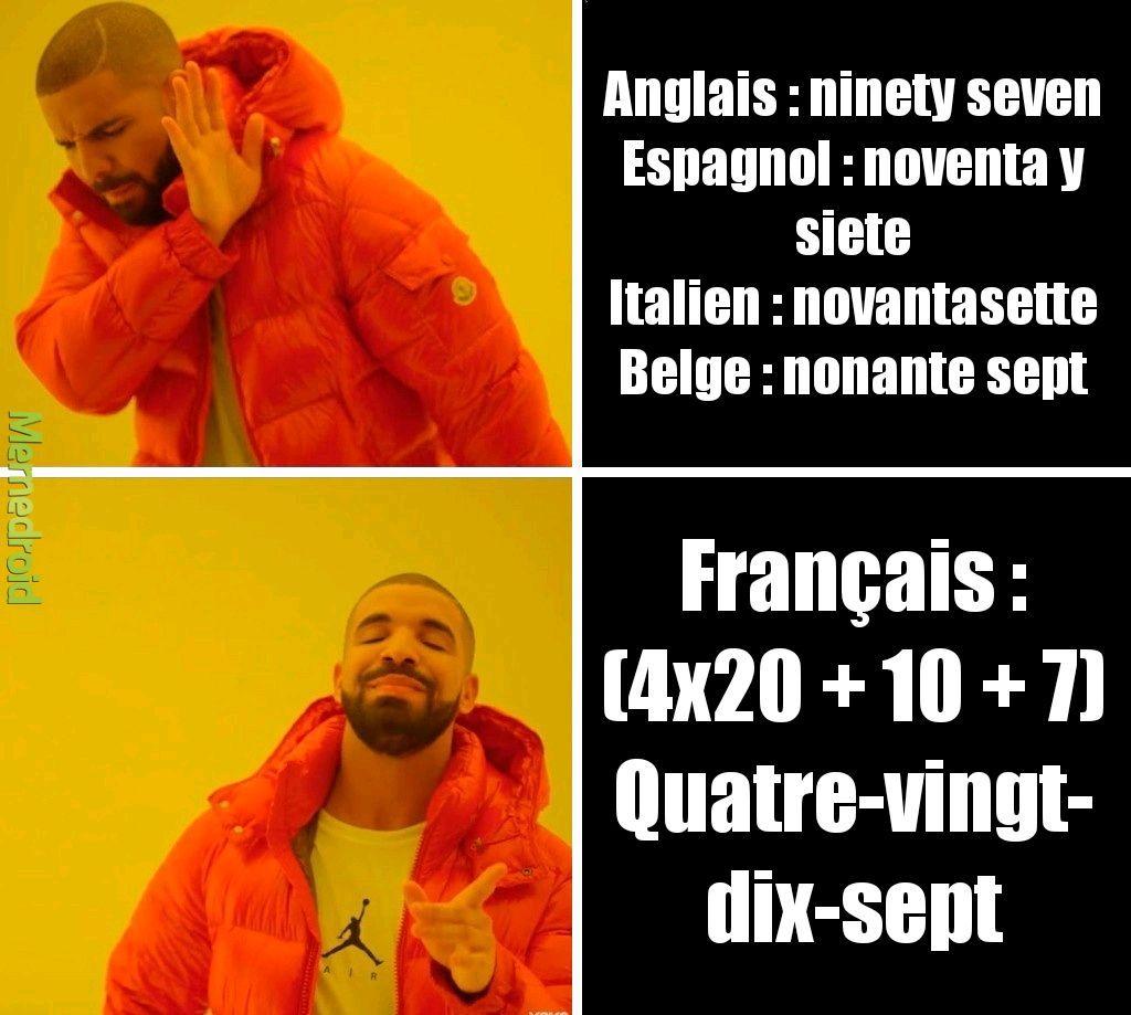 J'aime la langue française - meme