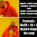 J'aime la langue française
