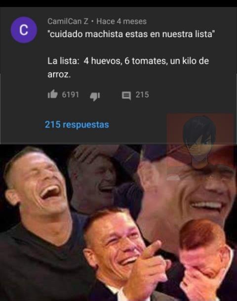 Los comentarios de ese vídeo son epicos - meme