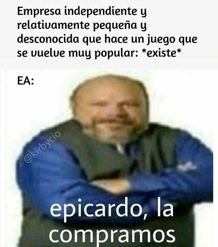EA: *Risa del Agente Smith de Matrix* - meme
