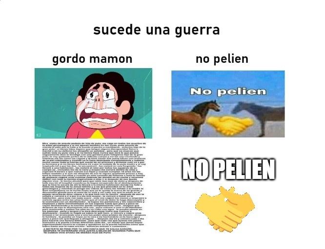 no pelien - meme