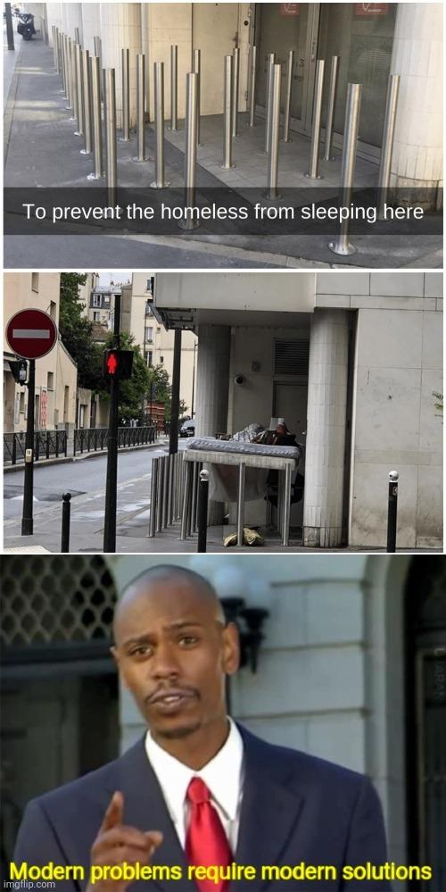 Homeless - meme