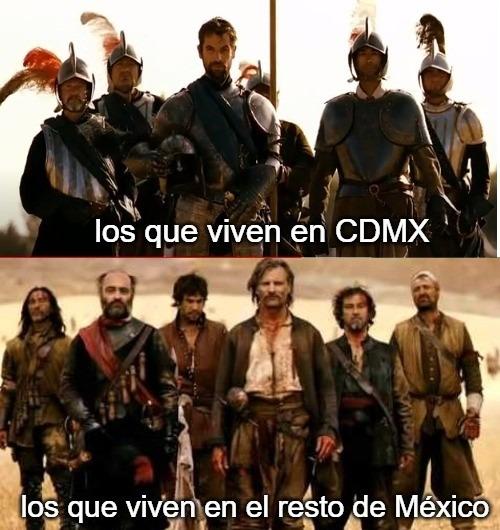 cdmx y el resto de mexico - meme