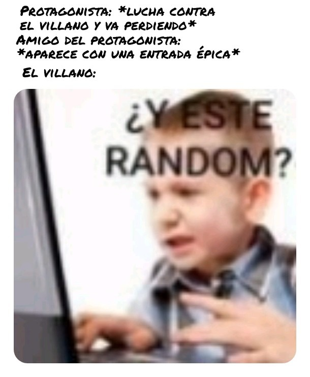 Y este random? - meme