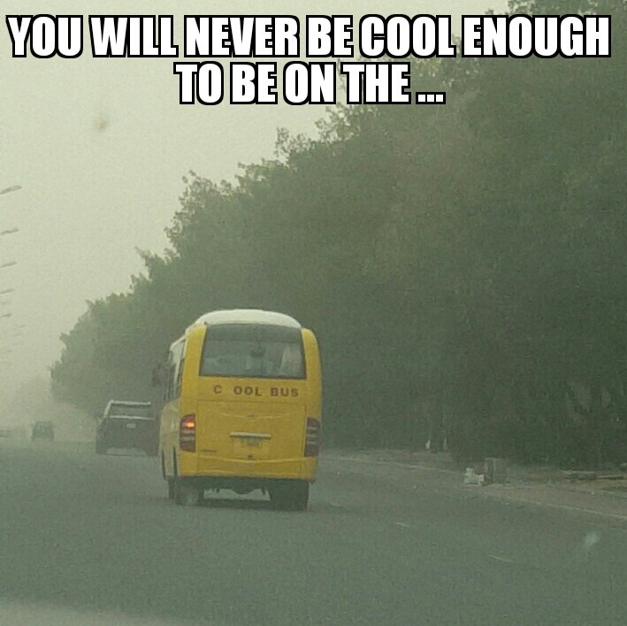 Spam cool bus on the next 10 memes to be on the cool bus!!