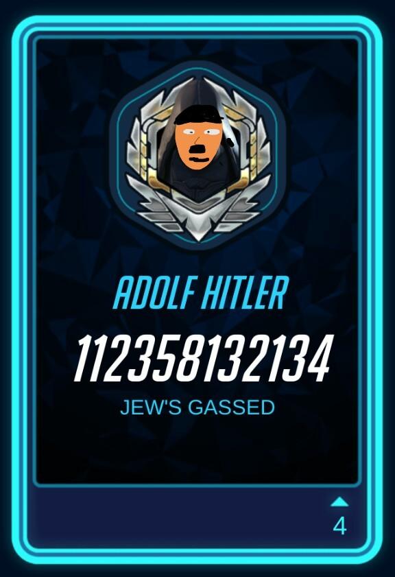 If Hitler played overwatch - meme