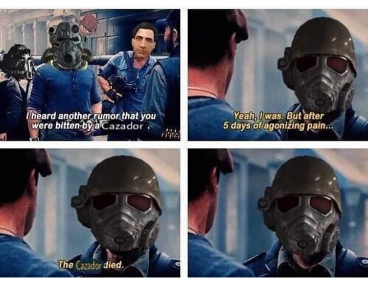 I fucking love Fallout New Vegas - meme