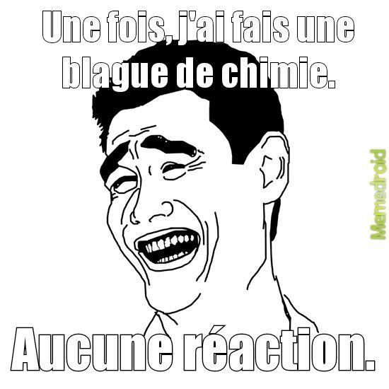Chimie - meme