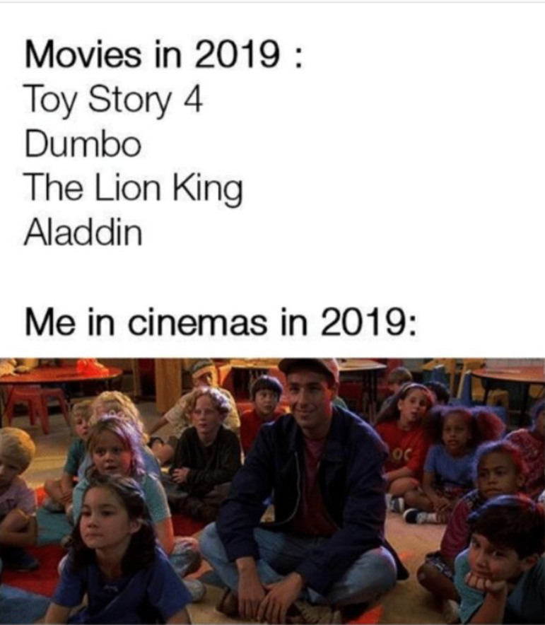 Who is watch any of these movies? - meme