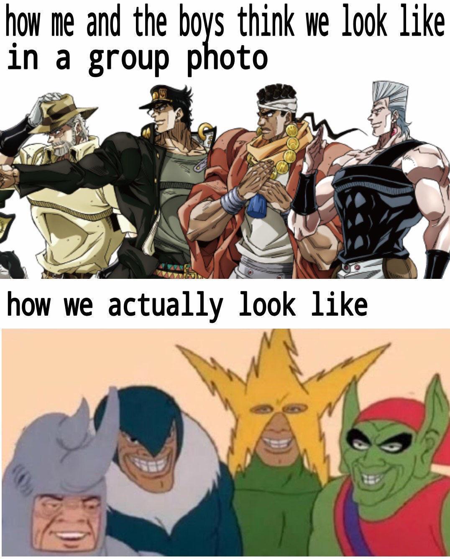 Strike a pose. - meme