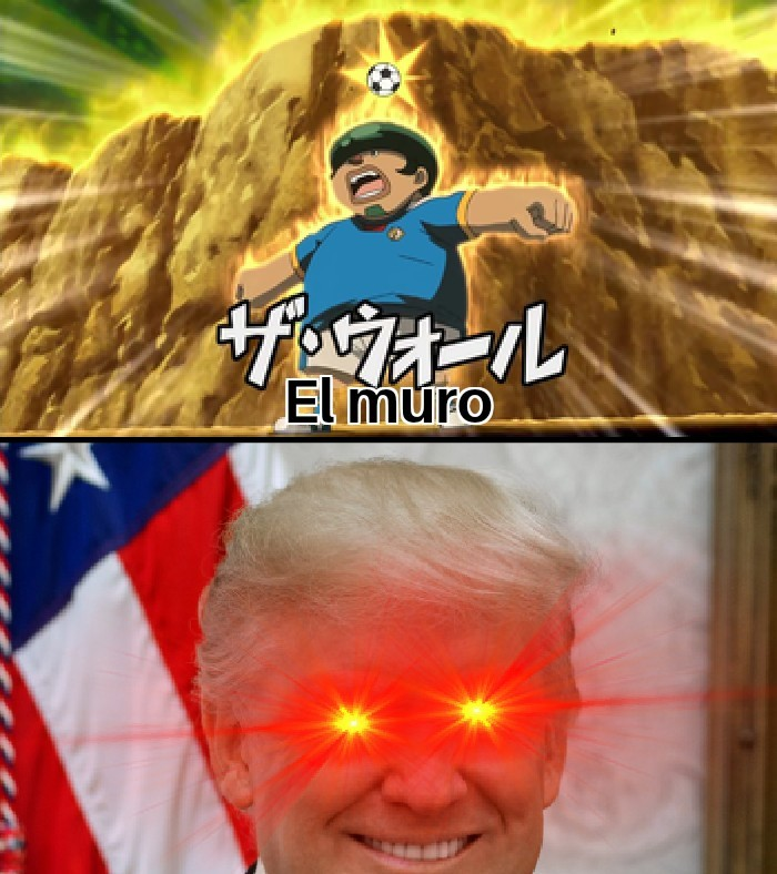 Arriba, chuta, la victoria es tuya - meme