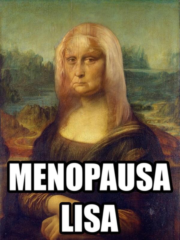 Menopausa Lisa - meme