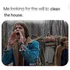 Clean the house - meme