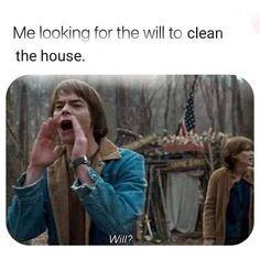 Clean the house - meme
