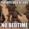 No bedtime