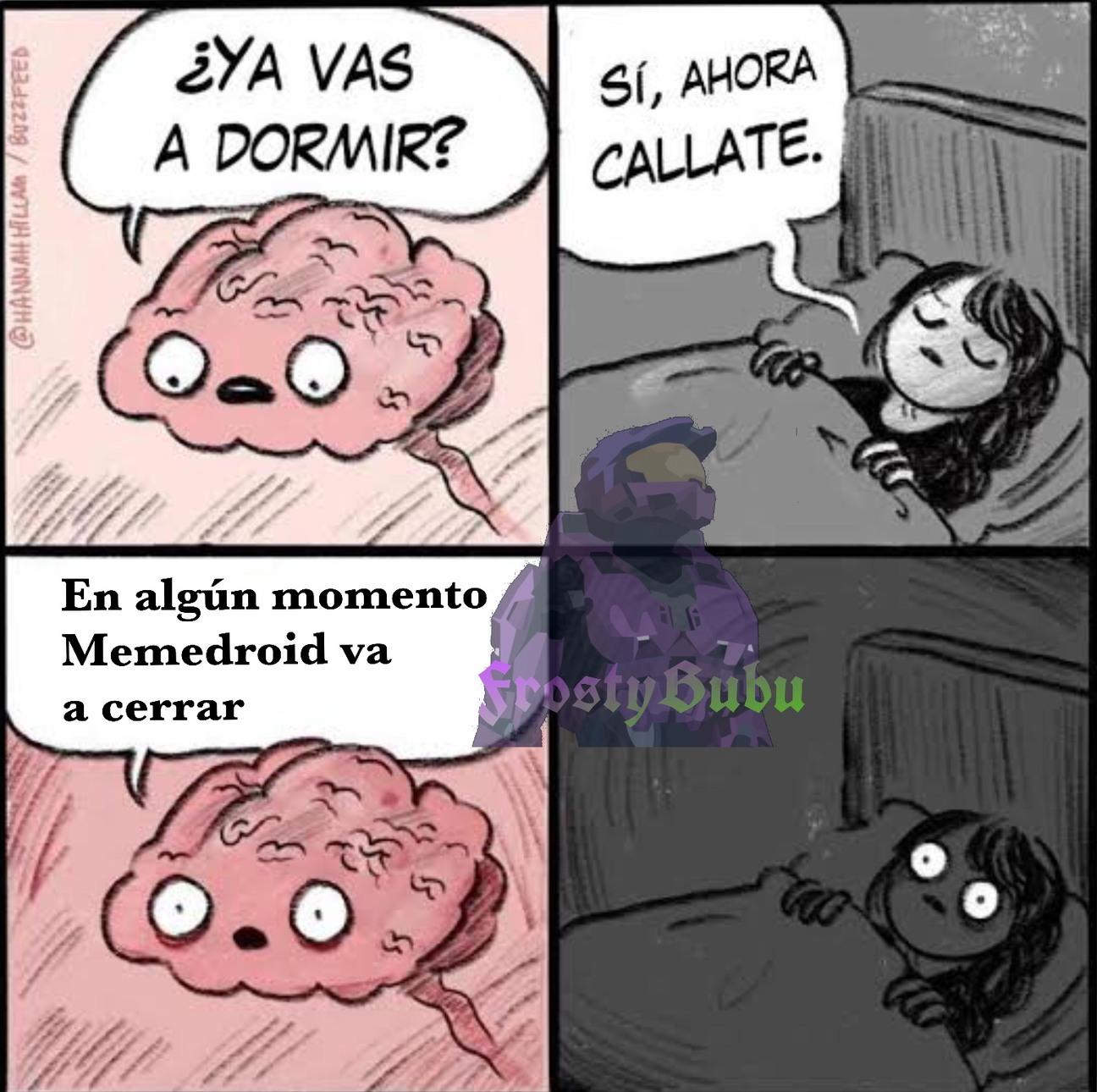 Pesadillas - meme