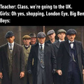 By order of the Peaky fucking Blinderrs