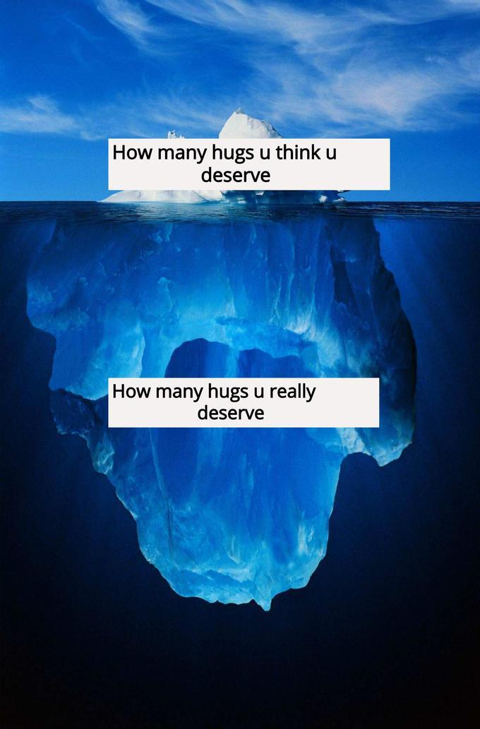I'm sending you virtual hugs! - meme