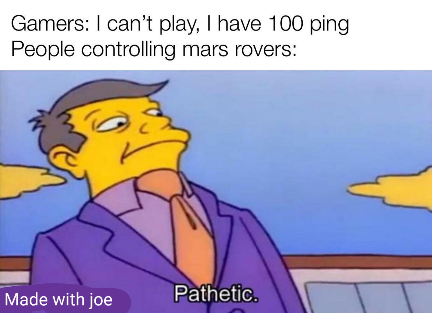 100000 ping - meme