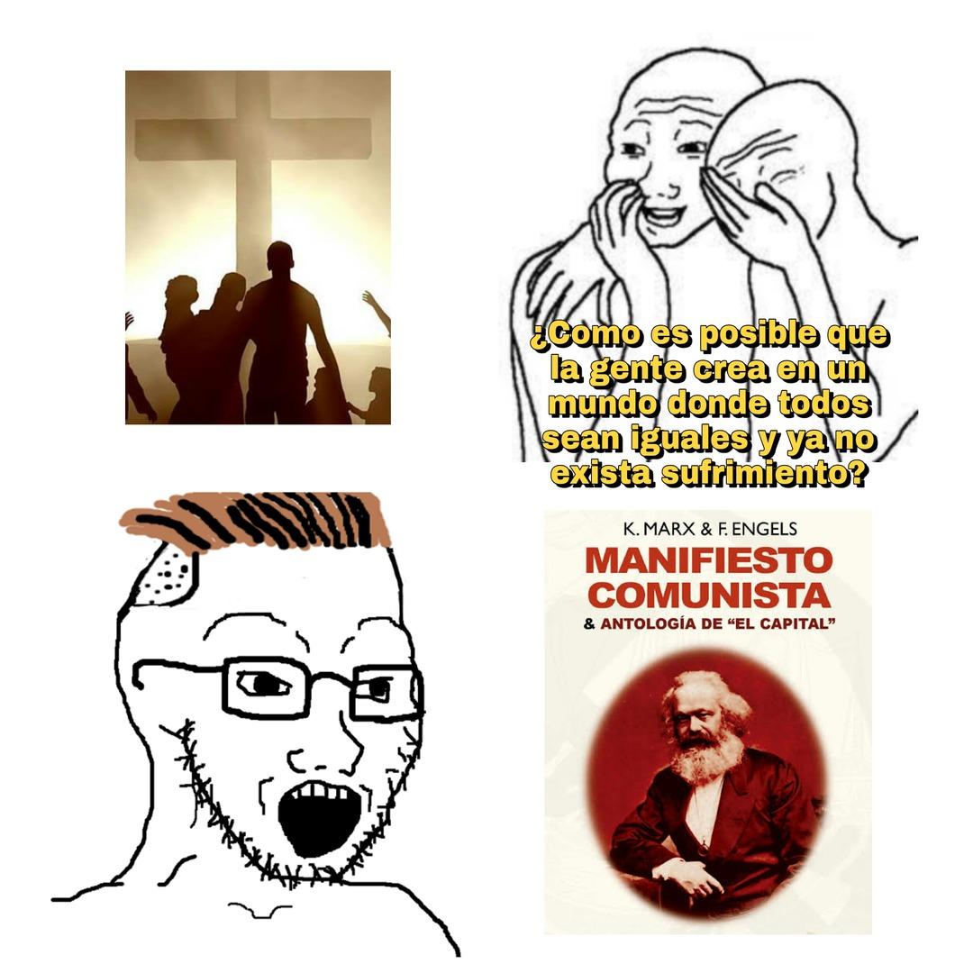 No le sé al comunismo - meme