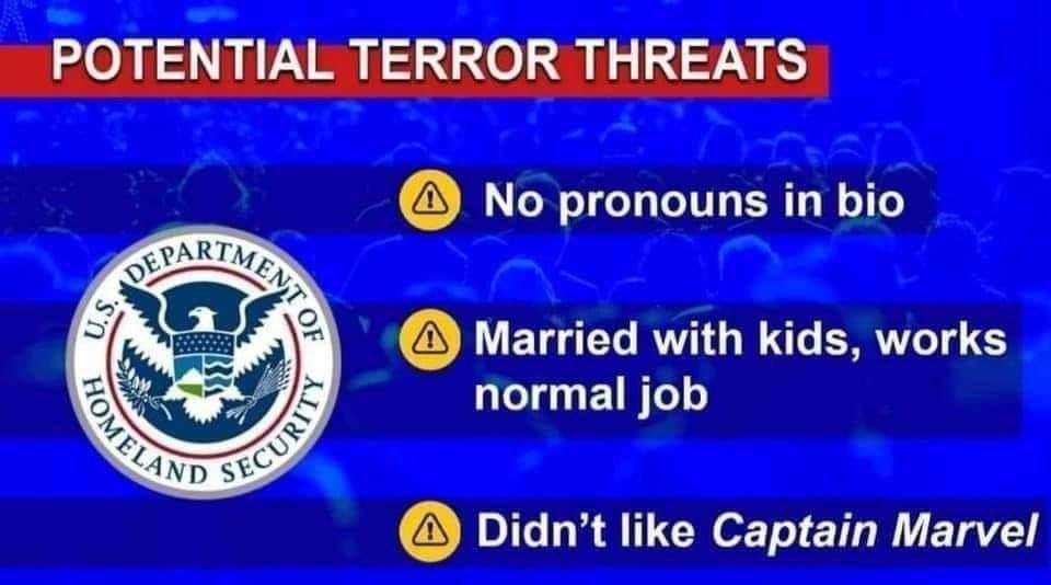 Guess I'm a terrorist - meme