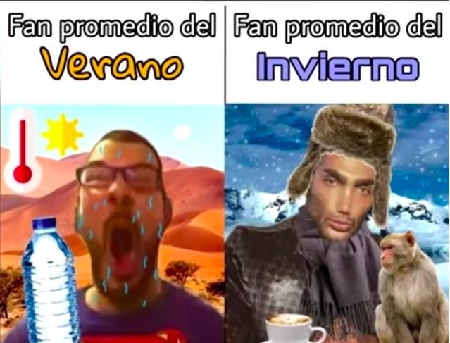 verano zzzzz invierno god - meme