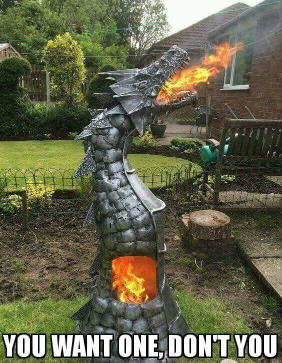 Fire breathing dragon - meme