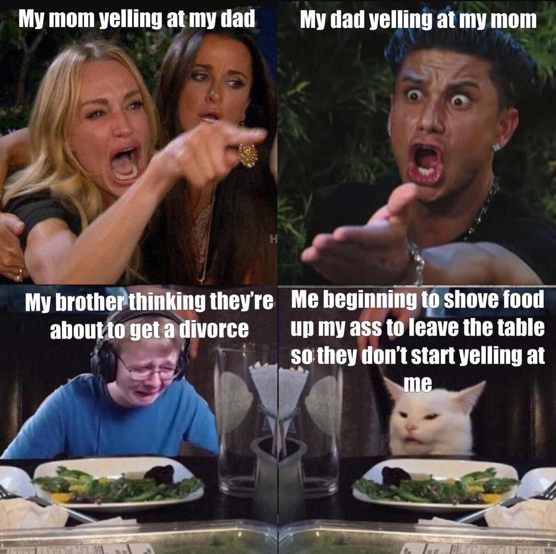 Table talk - meme