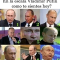 Ese Putin es todo un loquillo.