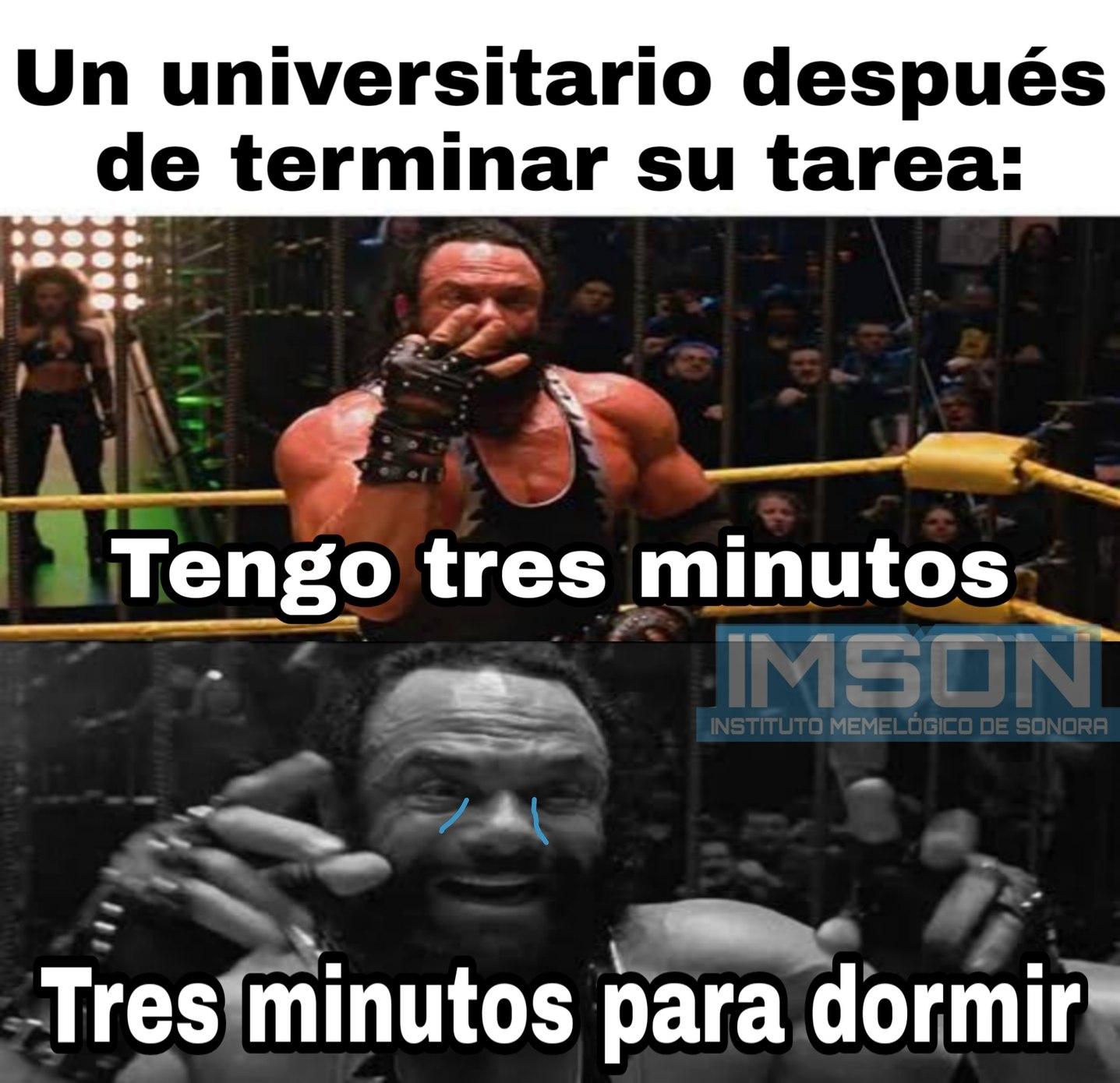 3 minutos - meme