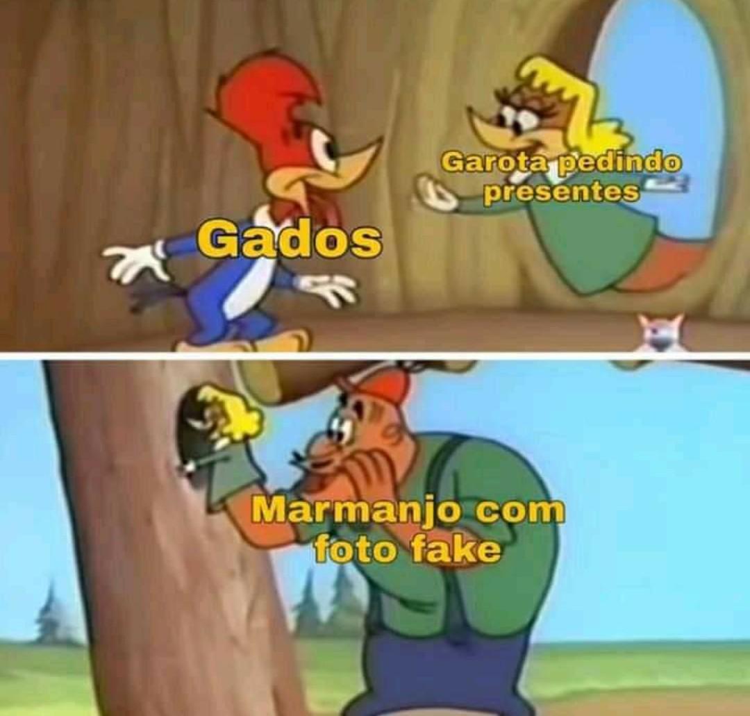 Fogo Grátis - meme