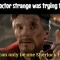 What Dr. Strange was trying to say