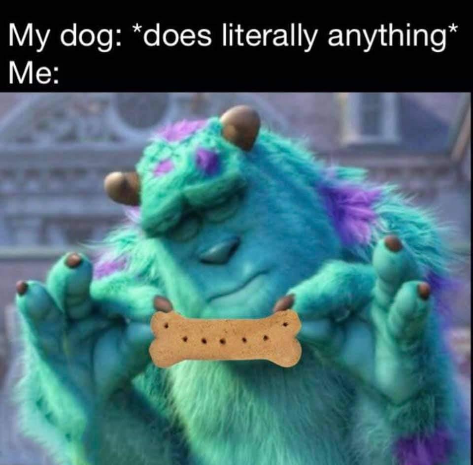 You deserve this - meme
