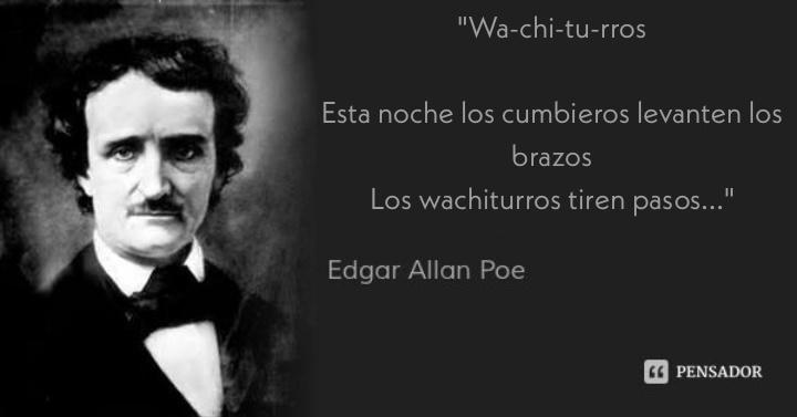 Edgar Allan Pou, inspirandonos como siempre - meme