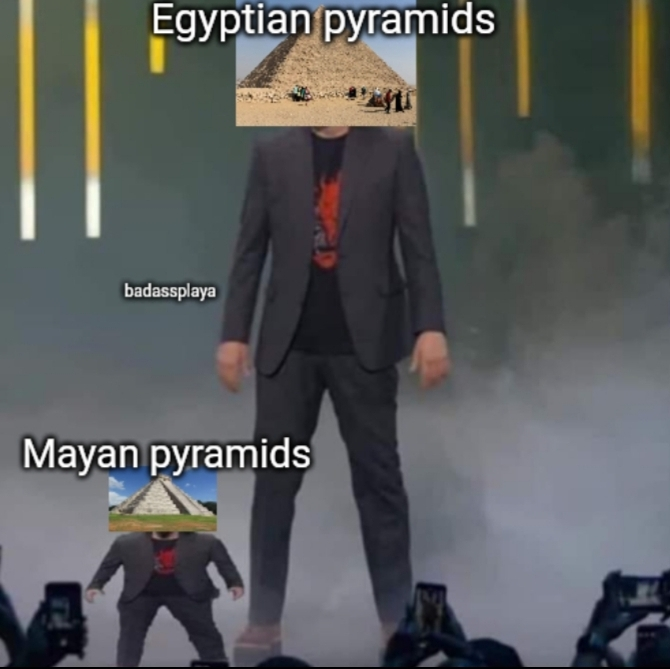 mayan b smol - meme