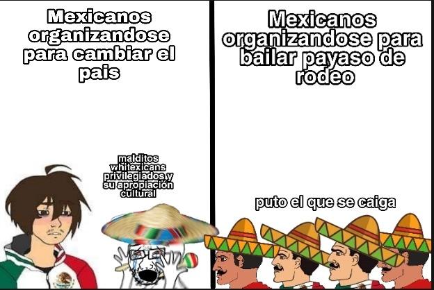 Cruzando la frontera me encontré con el - meme