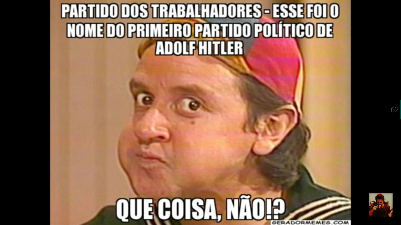 Hitler de direita ? Adhajusjah - meme