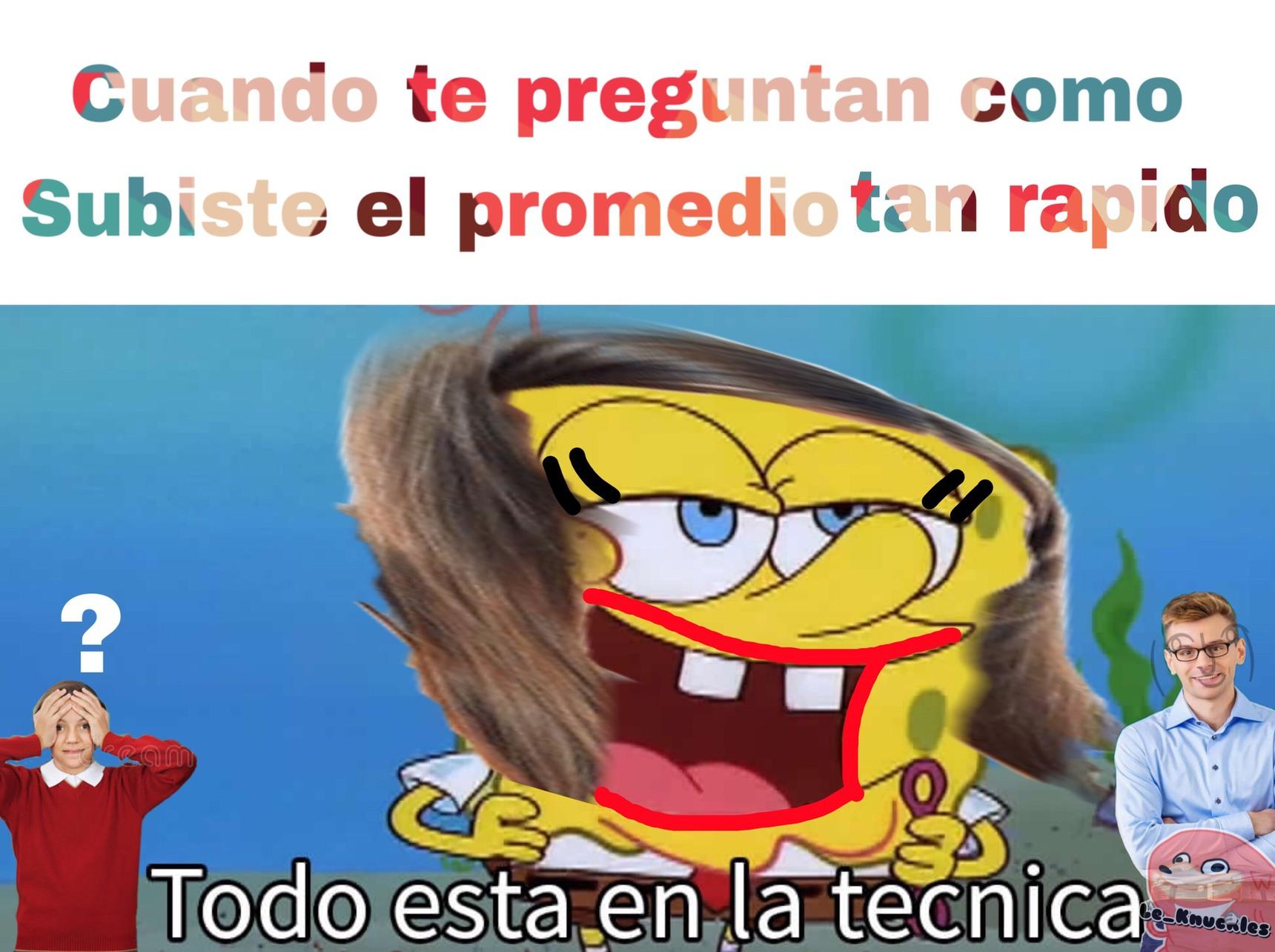 técnica - meme
