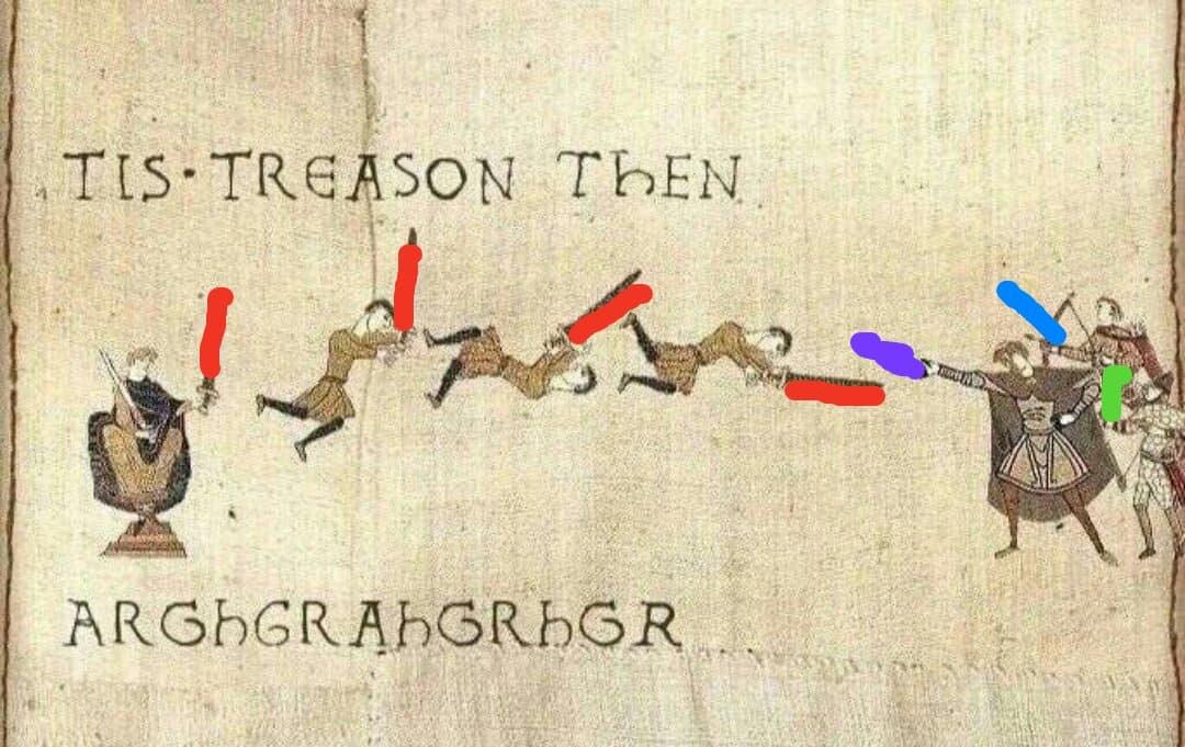 It's treason then - meme