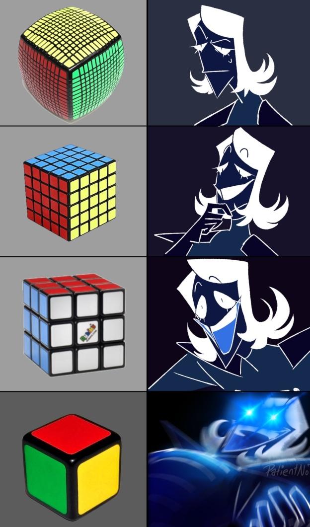 los que jugaron deltarune entenderan - meme