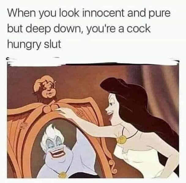 Slut issues - meme