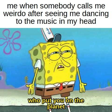 i like dancing - meme
